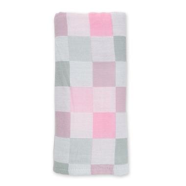 Lulujo, Luxe Kocyk Muślinowy Pink