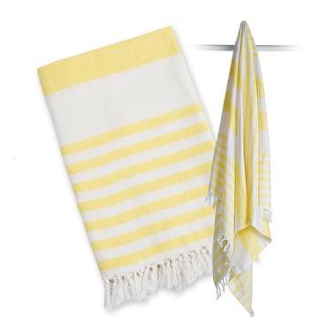 Lulujo, Ręcznik Turecki 3w1 Sunshine Yellow