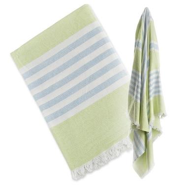 Lulujo, Ręcznik Turecki 3w1 Zielony