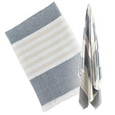 Lulujo, Ręcznik Turecki 3w1  Granatowy