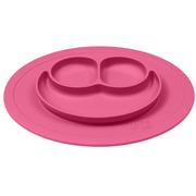 EZPZ, silikonowy talerzyk z podkładką mały 2w1 Mini Mat różowy