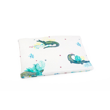 Poofi, poduszka jasiek dla niemowlaka KROKODYLE