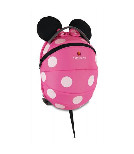 Duży Plecak LittleLife Disney Myszka Minnie - PINK 3+