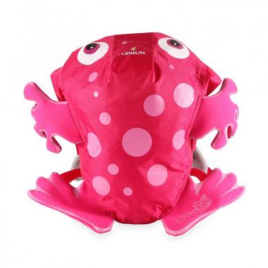 Plecak LittleLife SwimPak Żaba - Różowa