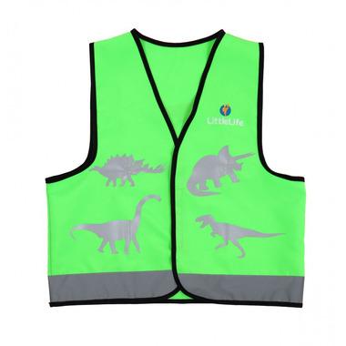 Kamizelka odblaskowa LittleLife Dinozaur - Medium