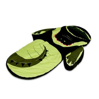 Łóżeczko turystyczne z śpiworem LittleLife Krokodyl