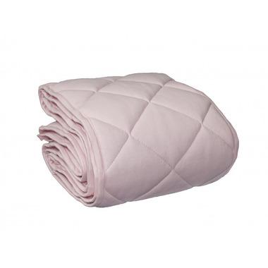 Ochraniacz pikowany na całe łóżeczko Pudrowy Róż 30x360