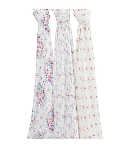 flower child 3-pack silky soft swaddles