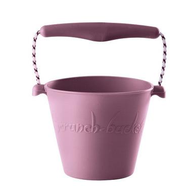 Scrunch-bucket Wiaderko silikonowe, Pastel Fiolet