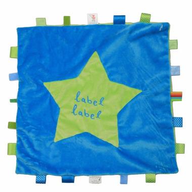 Stars Kocyk przytulanka XXL Blue/Green METKI