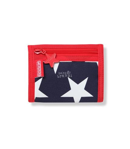 Portfel dla chłopca granatowy w gwiazdy