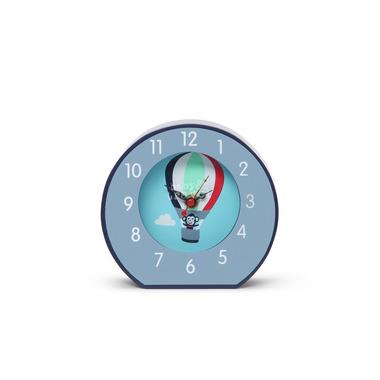 Zegar niebieski w małpki