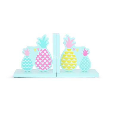 Podpórki do książek miętowe w ananasy