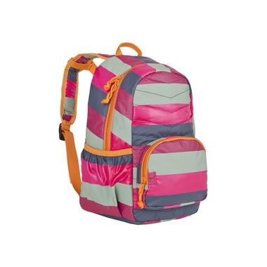 Lassig Plecak szkolny lekki pikowany Striped magenta