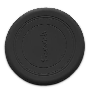 Scrunch-frisbee Silikonowe Frisbee, Czarne