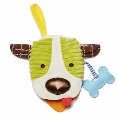 Skip Hop, książeczka–pacynka Bandana Buddies Pies