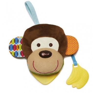 Skip Hop, książeczka–pacynka Bandana Buddies Małpa