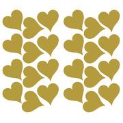 Roommates, Naklejki ścienne - Złote serca