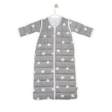 Jollein, Śpiworek do spania z odpinanymi rękawami Szary Little star 18-36 miesięcy