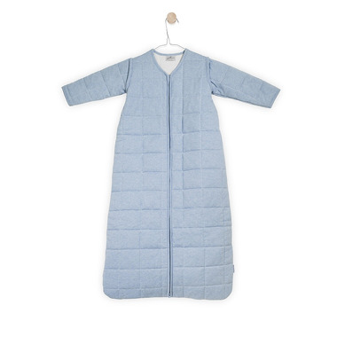 Jollein, Śpiworek do spania z odpinanymi rękawami Błękitny 0-6 miesięcy
