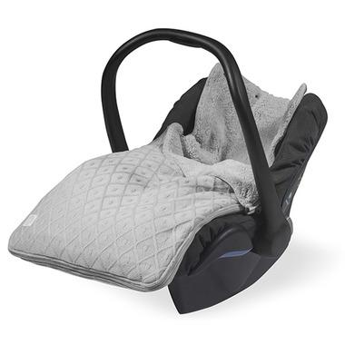 Jollein,  Śpiworek do fotelika samochodowego Jasny szary  0-12