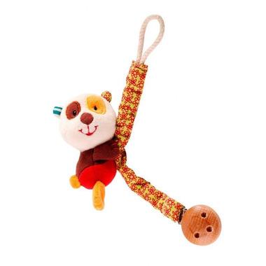 Lilliputiens, ecodoux Panda Clara zawieszka do smoczka