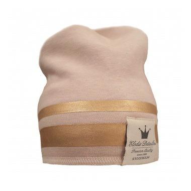 Elodie Details, czapka Gilded Pink, 6-12 m-cy