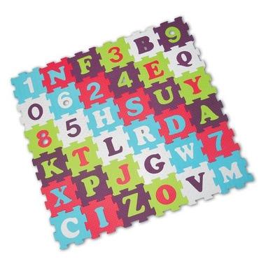 Ludi Piankowe Puzzle Litery i Cyfry