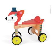 Janod, rowerek czterokołowy Lisek Baby Forest,