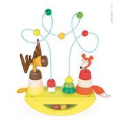 Janod, platforma edukacyjna Łoś i lisek Baby Forest,
