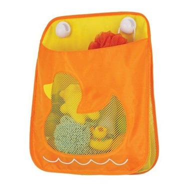 Skip Hop, organizer Tubster na zabawki kąpielowe pomarańczowy