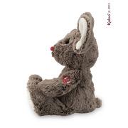 Kaloo, Myszka czekoladowy brąz 31 cm kolekcja Rouge