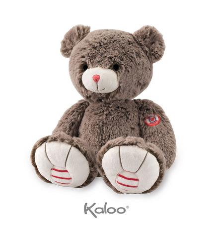 Kaloo, Miś czekoladowy brąz 31 cm kolekcja Rouge