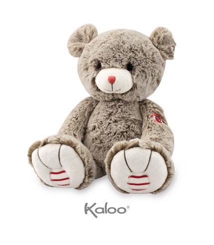 Kaloo, Miś piaskowy beż 31 cm kolekcja Rouge