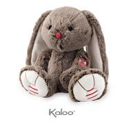 Kaloo, Królik czekoladowy brąz 31 cm kolekcja Rouge