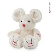 Kaloo, Myszka kość słoniowa 19 cm kolekcja Rouge