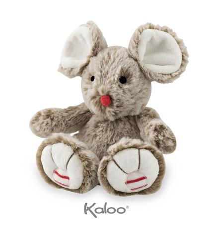 Kaloo, Myszka piaskowy beż 19 cm kolekcja Rouge