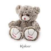 Kaloo, Miś piaskowy beż 19 cm kolekcja Rouge