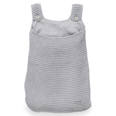 Jollein, Duża torba na akcesoria Heavy Knit Popielaty szary