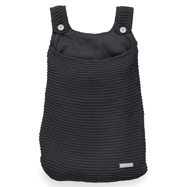 Jollein, Duża torba na akcesoria Heavy Knit Czarna