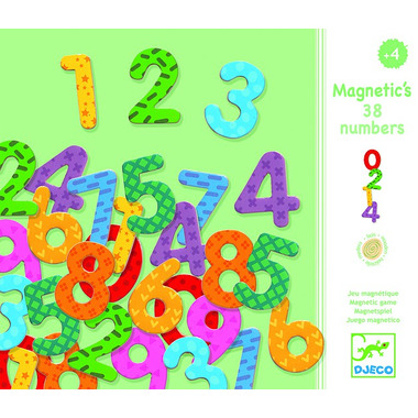 Djeco, Cyferki magnetyczne 38 szt
