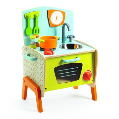 Djeco, drewniana kuchnia retro