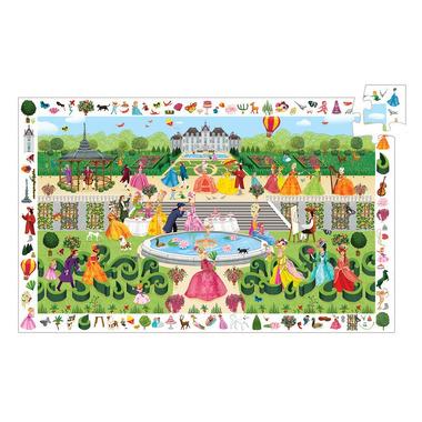 Djeco, Puzzle Obserwacja Ogrodowe Przyjęcie
