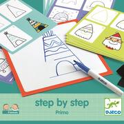 Djeco, Rysowanie krok po kroku PRIMO