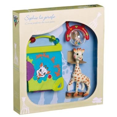 Sophie żyrafa - zestaw wraz z książeczką i grzechotką