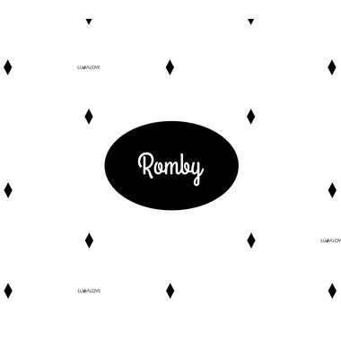 Lullalove, Muślinowa pieluszka /myjka Romby