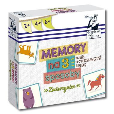 ZWIERZYNIEC MEMORY NA 3 SPOSOBY Kapitan Nauka
