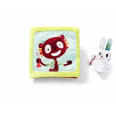 Lilliputiens, Książeczka wielofunkcyjna Little Rabbit Dentist