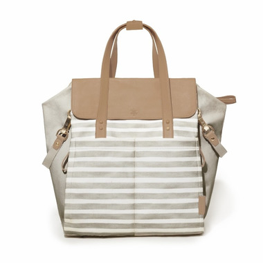 Skip Hop, Torba Highline Backpack - Oyster Stripe
