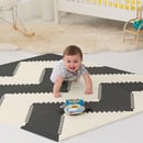 Skip Hop, Mata Playspot Black/Cream GEO